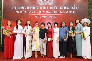 Lộ diện những người đẹp vào chung khảo cuộc thi Người mẫu Quý bà Việt Nam 2018