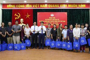Lãnh đạo TP Hà Nội chung vui Ngày hội Đại đoàn kết toàn dân tộc với nhân dân các địa phương