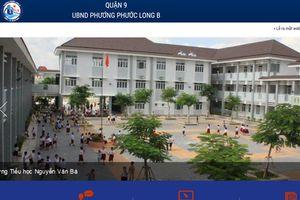 TP.HCM: Ra mắt Website phường Phước Long B - quận 9