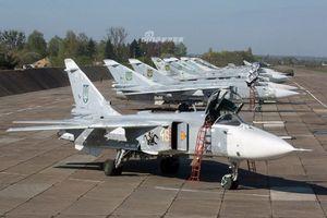 Ukraine răn đe ly khai miền Đông bằng cách khoe loạt chiến đấu cơ mới nâng cấp