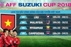 Giá quảng cáo vòng bảng AFF Cup 2018 cao kỷ lục