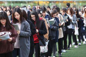 Học sinh Hàn Quốc trước ngày căng thẳng nhất trong 'năm địa ngục'