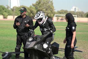 Cảnh sát Dubai luyện tập xe bay