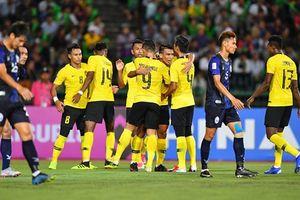 Nhọc nhằn đánh bại Lào, Malaysia tạm xếp nhất bảng A