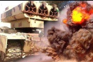 SAA dùng pháo tự chế 500mm tấn công hang ổ IS