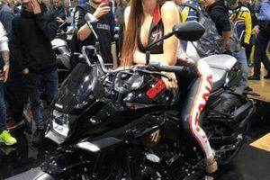 Môtô 2019 Suzuki Katana màu đen xuất hiện, phái mạnh bủa vây