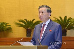 Bộ trưởng Công an Tô Lâm: Tội phạm về tham nhũng, chức vụ tăng