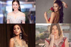 Soi nhóm thi toàn đối thủ đáng gờm của Hoa hậu Trần Tiểu Vy