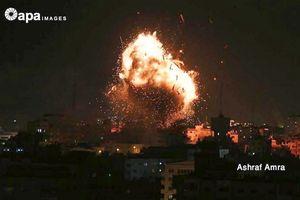 Chiến binh Palestine bắn rocket ào ạt vào Israel