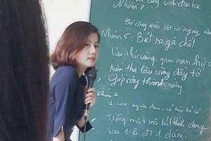 Cộng đồng mạng 'phát sốt' với ảnh chụp trộm cô giáo dạy Triết xinh đẹp