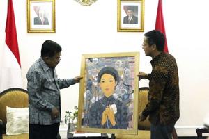 Đại sứ Phạm Vinh Quang chào xã giao Phó Tổng thống Indonesia