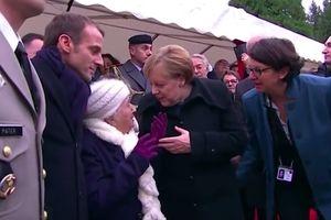 Bà cụ 100 tuổi nhầm Thủ tướng Merkel là phu nhân Tổng thống Pháp