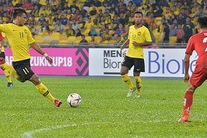 Thắng Lào 3-1, Malaysia vươn lên dẫn đầu bảng A