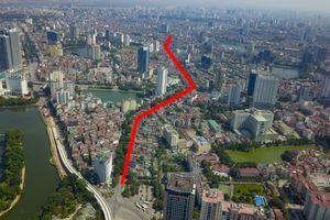 Toàn cảnh 2,2 km đường trị giá hơn 7000 tỷ đồng sắp được khởi công tại Hà Nội