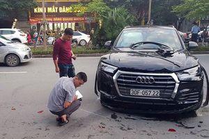 Xác định danh tính tài xế Audi Q5 lùi xe gây tai nạn liên hoàn ở Hà Nội
