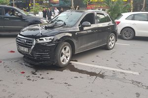 Hé lộ nguyên nhân tài xế Audi Q5 tông Mercedes và 2 xe máy ở Hà Nội