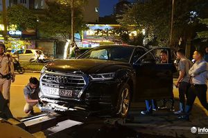 Hiện trường và danh tính tài xế siêu xe Audi Q5 gây tai nạn liên hoàn ở Hà Nội
