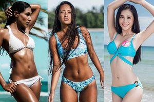 Hoa hậu 18 tuổi của Việt Nam liệu có cửa trước những thí sinh có body nóng rẫy này tại Miss World?