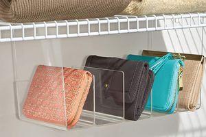 Túi xách, ví tiền nhiều cả tá vẫn có cách sắp xếp khoa học, gọn gàng