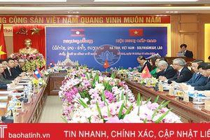 Khai mạc hội nghị cấp cao thường niên Hà Tĩnh - Bôlykhămxay
