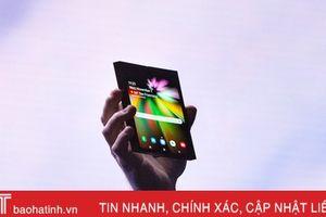 Smartphone thân gập của Samsung tên Galaxy F, giá từ 1.770 USD