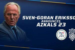Phillippines - Singapore (1-0): Ra mắt thành công, Sven Goran Eriksson giúp đội nhà có 3 điểm đầu tay