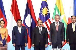 Hình ảnh Thủ tướng dự Lễ khai mạc Hội nghị Cấp cao ASEAN 33