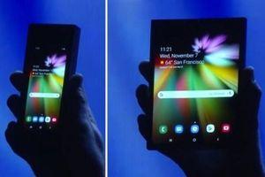 Điện thoại gập màn hình của Samsung sẽ bán vào tháng 3, giá 1.770 USD