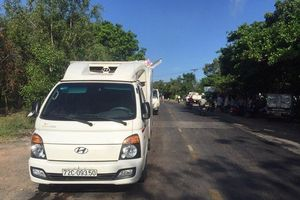 Xe quân sự bị xe thùng đông lạnh tông trúng, 2 chiến sĩ quân nhân tử nạn
