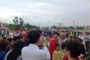 Người hâm mộ đếm ngược ngày 'dàn sao' xứ Nghệ đổ bộ vào Quảng Bình