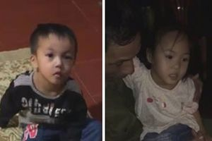 2 cháu bé bị bỏ ở chùa cùng lá thư 'nhờ nuôi giúp'