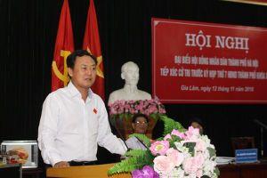 Tiếp thu, giải trình nhiều kiến nghị của cử tri huyện Gia Lâm