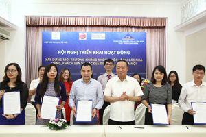 Ngành du lịch Hà Nội xây dưng môi trường không khói thuốc lá