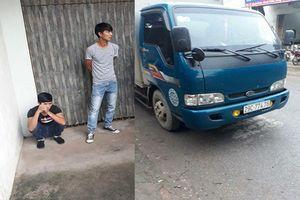 Truy tìm hai thanh niên đuổi đánh tài xế xe tải vì cán chết gà