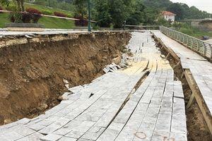 Thanh Hóa: Kè sông Mã hơn 100 tỷ sạt lở trước 'miệng hà bá'