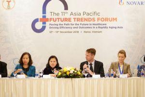 Diễn đàn Y tế Tương lai 2018: Già hóa dân số đang là thách thức lớn của Việt Nam và các nước châu Á