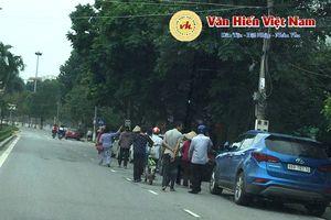 Vĩnh Phúc: Một số hộ dân Chấn Hưng kéo lên tỉnh đòi hỏi tiền bồi thường GPMB