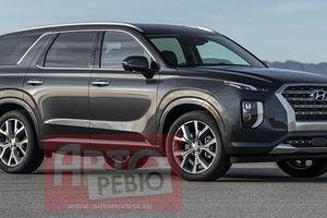 Mẫu SUV 'hạng nặng' Hyundai Palisade lộ diện trước giờ ra mắt