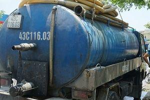 Doanh nghiệp để tài xế đổ nhớt thải xuống cống bị phạt 260 triệu đồng