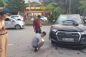 Audi Q5 gây tai nạn liên hoàn trên đường phố Hà Nội