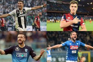 Cuộc đua 'Vua phá lưới' Serie A 2018/2019: Ronaldo lên top 2