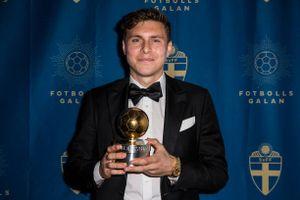 Sao MU trở thành cầu thủ xuất sắc nhất Thụy Điển năm 2018