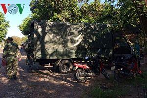 Tai nạn giao thông làm 4 người trên xe quân sự thương vong