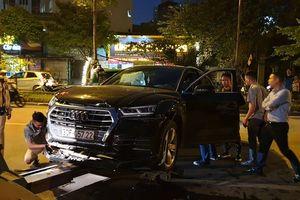 Audi Q5 chạy lùi vùn vụt gây tai nạn liên hoàn: Xác định danh tính tài xế