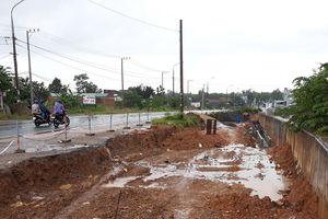 Người dân cản trở, sau 15 tháng 20m đường ở Đà Nẵng không thể hoàn thành