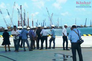 Nhận chìm vật chất nạo vét ở cảng biển Dung Quất ở vị trí nào?