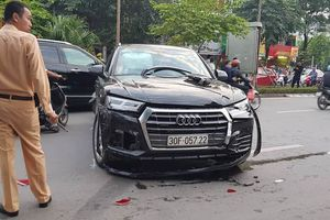 Xác định danh tính lái xe Audi Q5 gây tai nạn liên hoàn trên đường Nguyễn Khánh Toàn