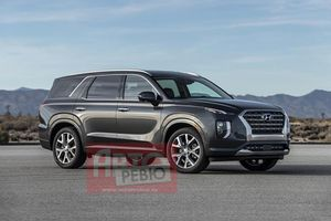 Hé lộ hình ảnh SUV 8 chỗ Palisade của Hyundai
