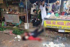 Đang ngồi bán hàng ở chợ, cô gái 26 tuổi bị người đàn ông rút súng bắn 3 phát tử vong tại chỗ