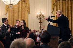CNN kiện Tổng thống Trump vì cấm phóng viên tác nghiệp ở Nhà Trắng